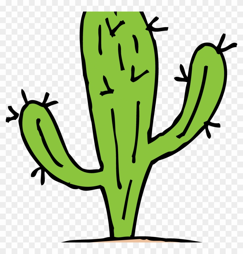 Cactus Clipart New Mexico Pencil And In Color Cactus - Cactus Clipart Black And White #184950