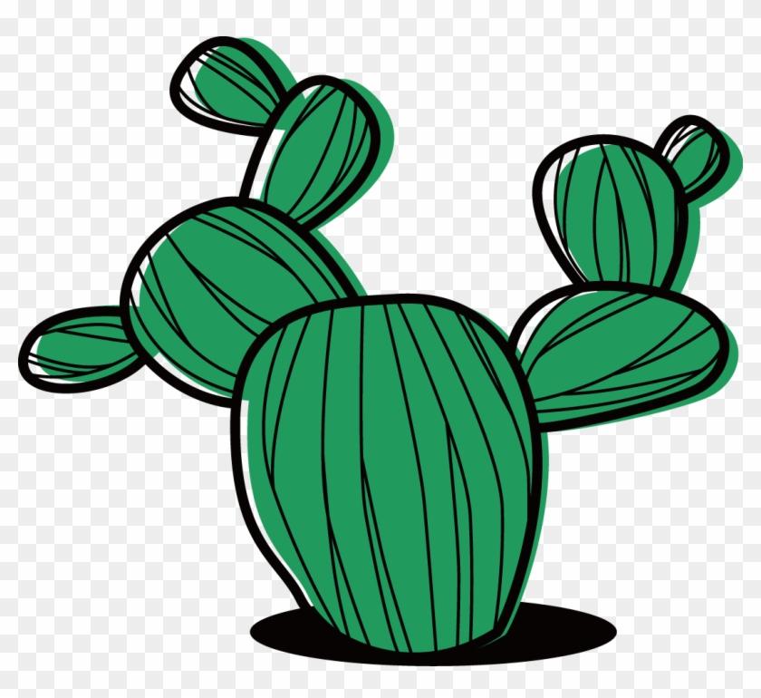 Cactaceae Succulent Plant Cartoon Clip Art - Cactus #184986