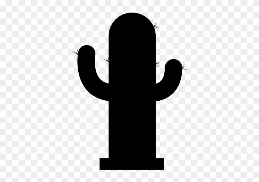 Cactus Silhouette - Cactus Silhouette Transparent #184984