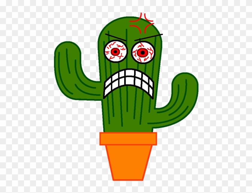 Cartoon Desert Clipart - Cactus Animation #184995