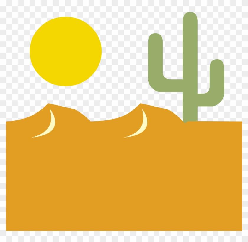 Desert Clipart Transparent - Desert Stencil #185034
