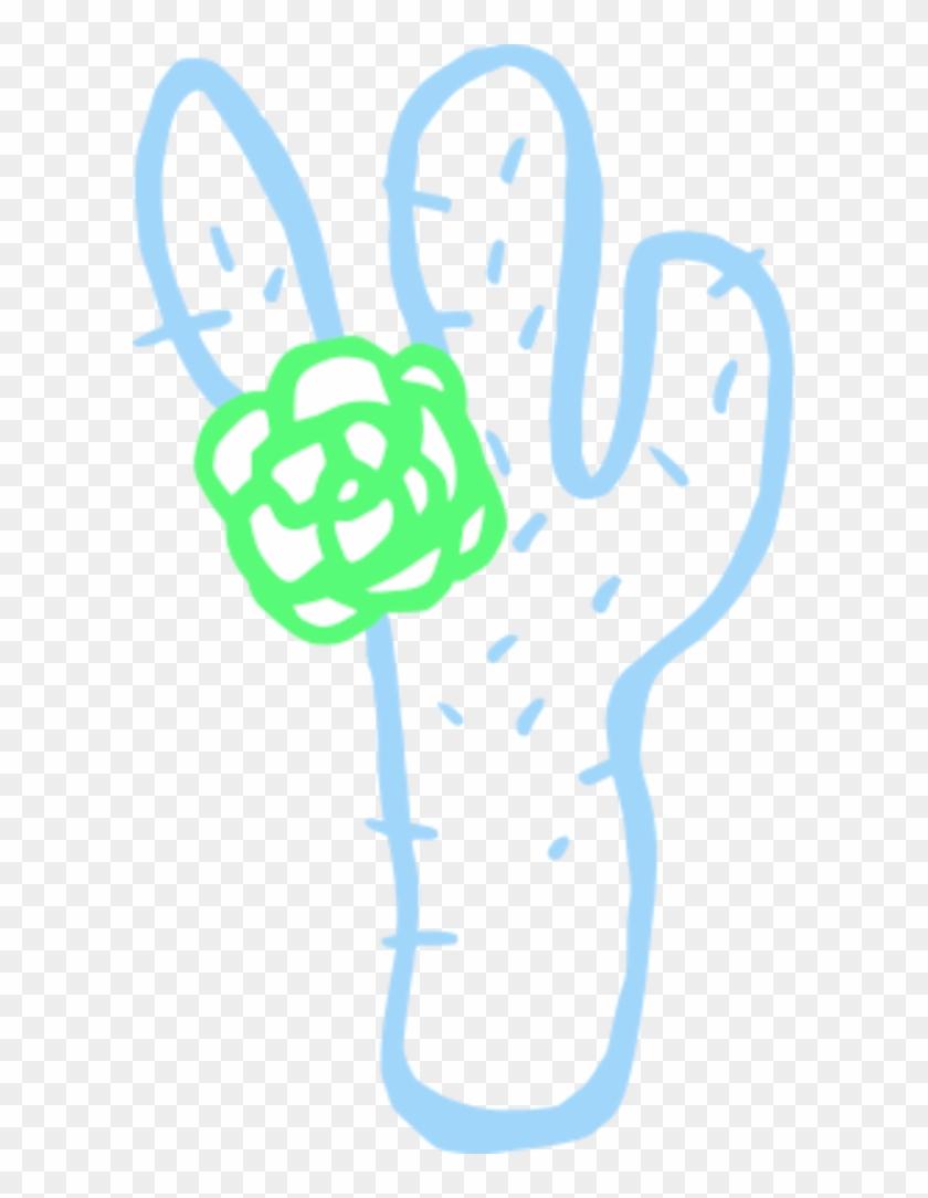 Cactus Plant Cartoon Simple - Cactus #185068