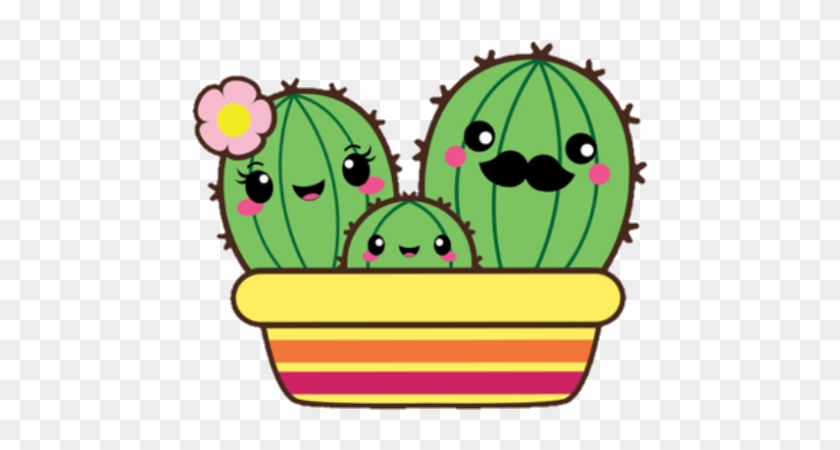 Cactus Cute Kawaii Family Nopal Cute Cross Stitch Cactus Free