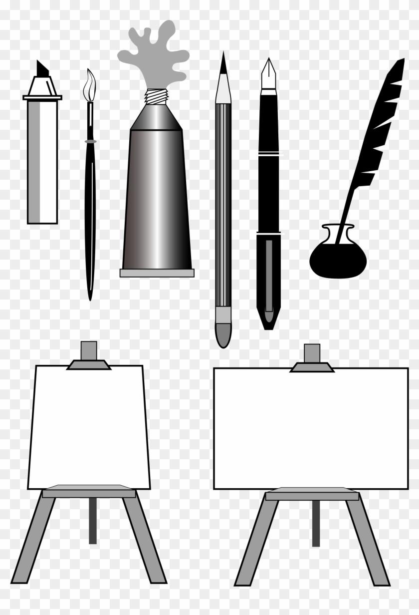 Big Image - Artist Tools Clip Art #185104