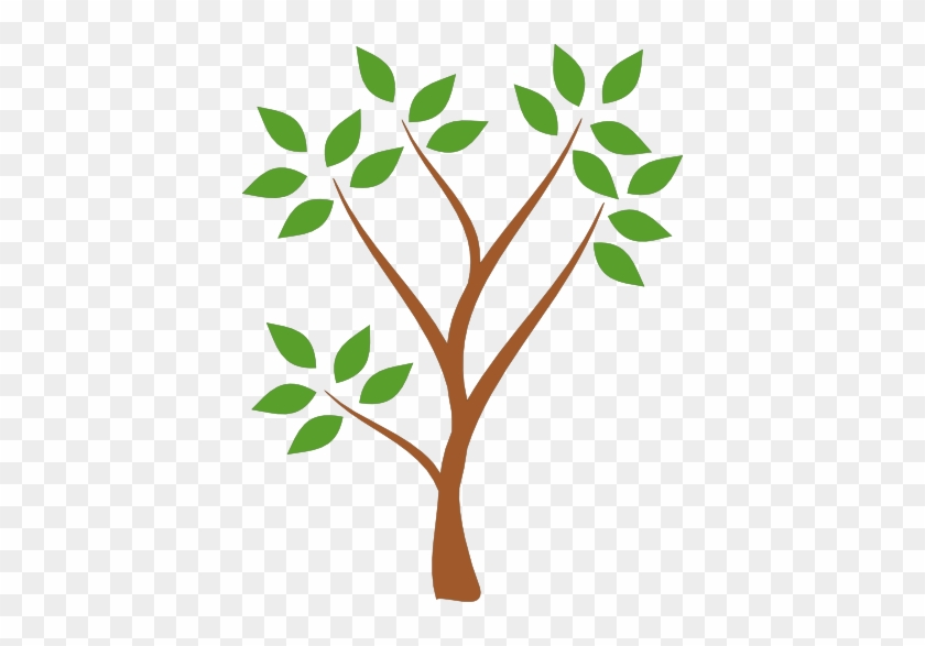 Plant Clipart No Background - Simple Tree #185290