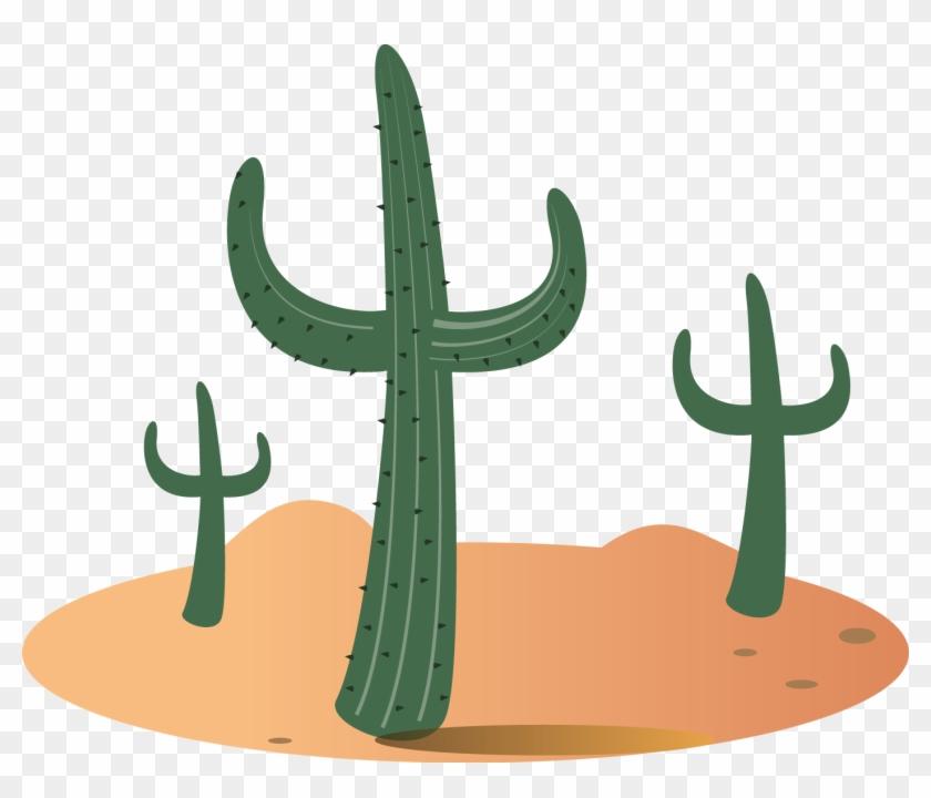 Gobi Desert Sahara Sonoran Desert Cactaceae - Desierto Vector Png #185340