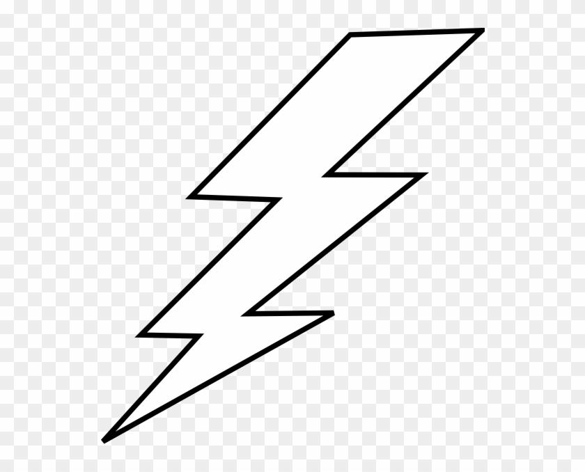 Fancy Idea Lightning Clipart Free Bolt Stencil Lightening - Lightning Bolt Template #185447