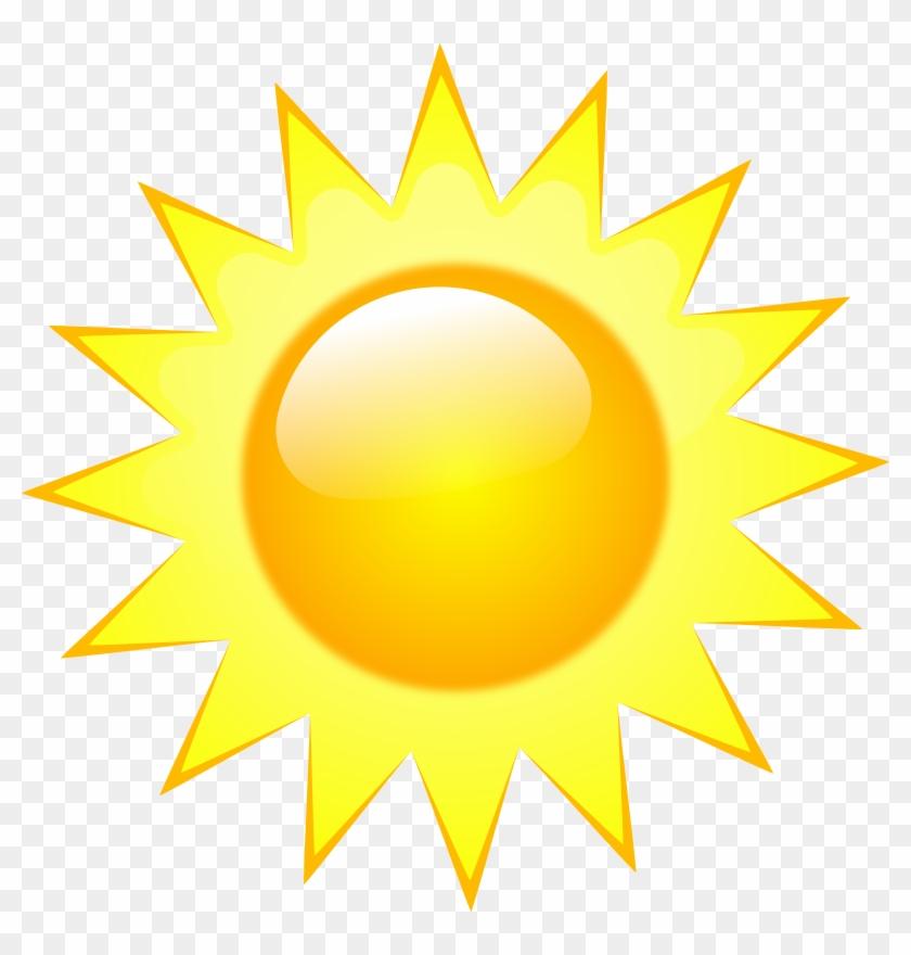 Sunny Weather Symbol Transparent #185543