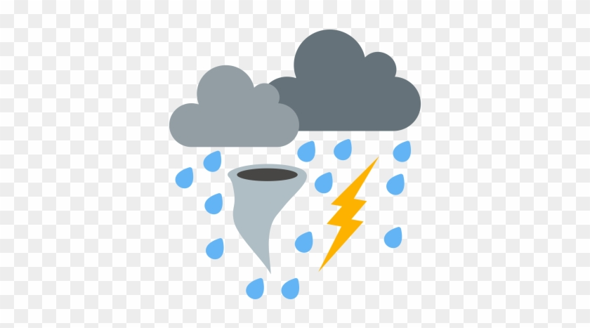 Cloud Clipart Bad Weather - Bad Weather Icon #185562