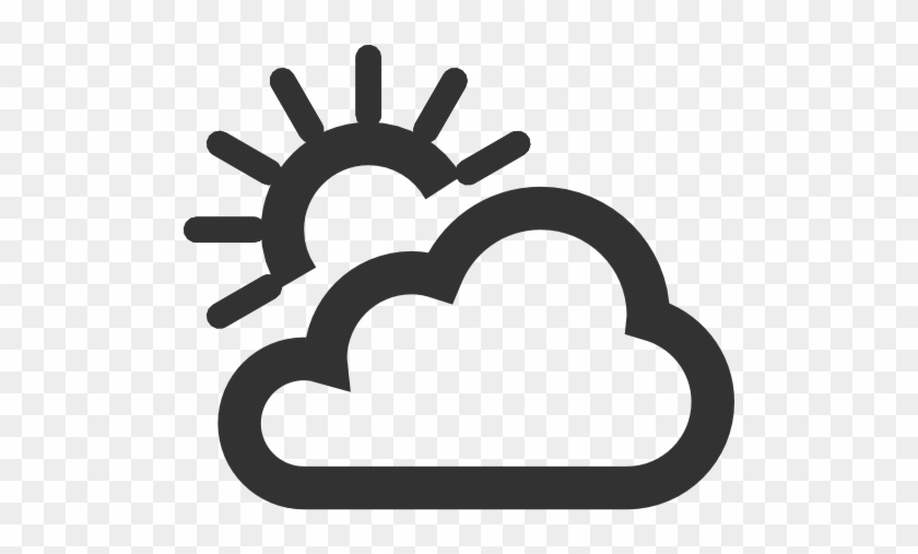 Weather Png Pic - Partly Cloudy Weather Icon #185811