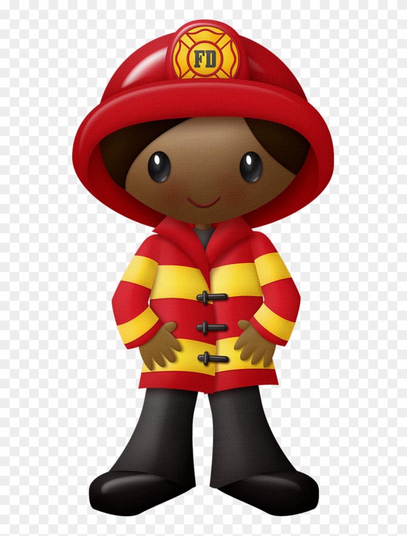 Firefighter Clipart - Fireman Clipart Png #1064599