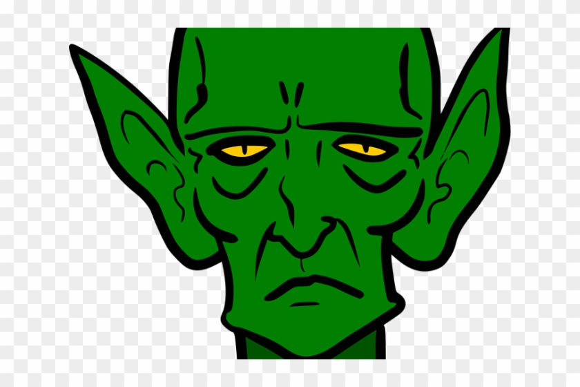 Pointed Ears Clipart Green - Story Of The Goblins Who Stole #1065362
