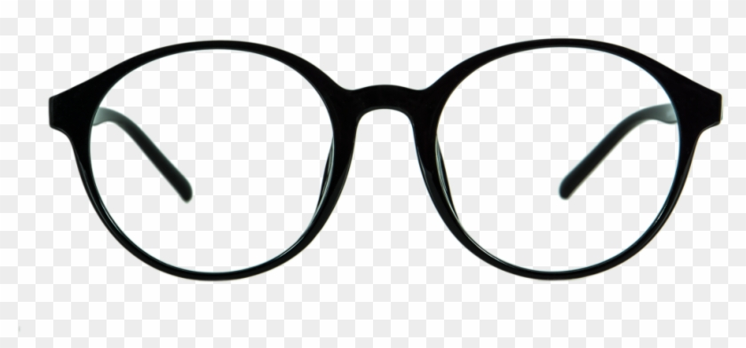 Hipster Glasses Frames Png - Black Round Glasses Png - Free ...