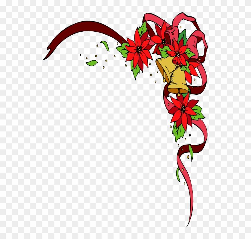 The Blessings Of Christmas - Christmas Bells Border Clip Art #1065823
