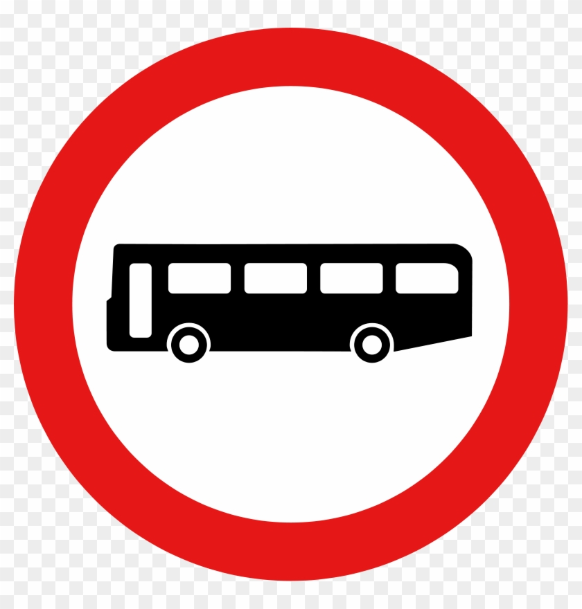 Bus Stop Stop Sign Traffic Sign Clip Art - Bus Stop Sign Vector #1065863
