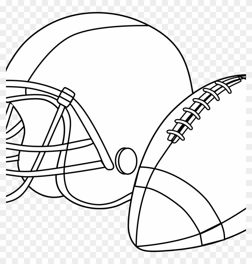 Pro Football Helmet Coloring Page | NFL Football | Free Coloring | 880x840