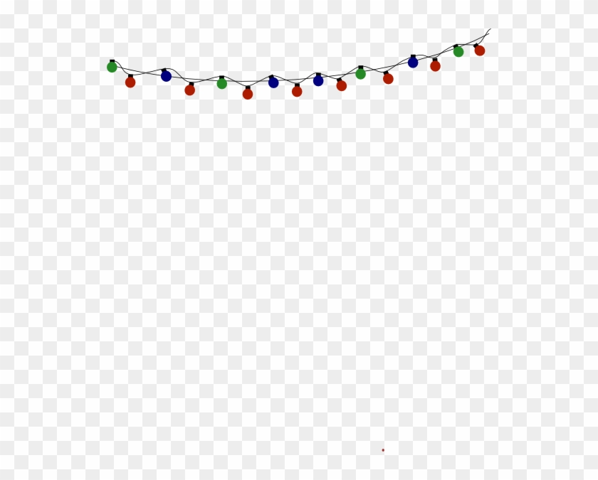 christmas lights border transparent fairy lights vector png