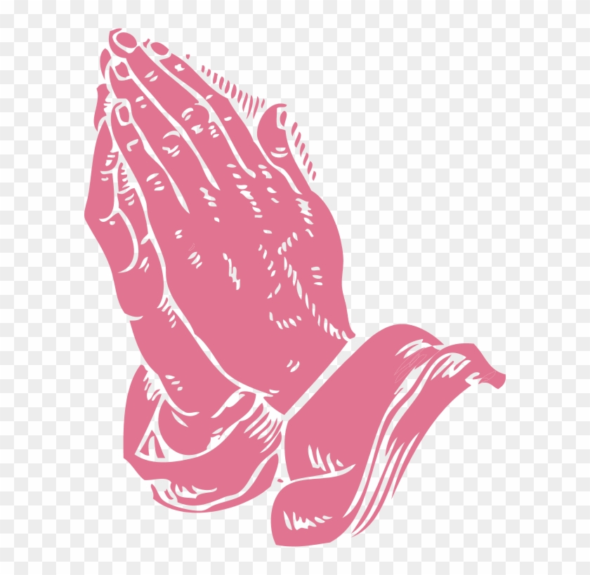 Black Praying Hands Clipart - Book Of Daily Prayer #1066918