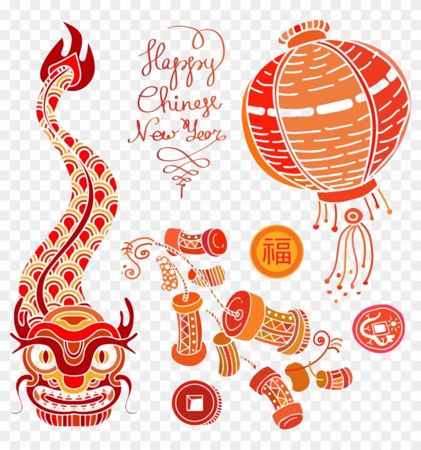 chinese new year firecracker chinese zodiac chinese new year firecrackers png 1066924