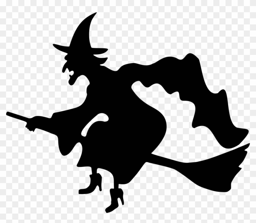Halloween Witch Clipart Black And White Archidev