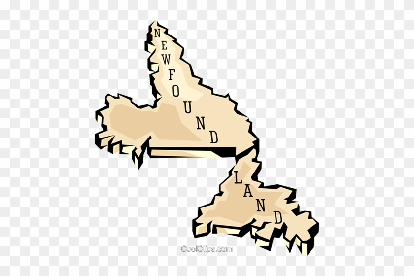 Outline Map Of The - Newfoundland Clip Art - Free Transparent PNG ...