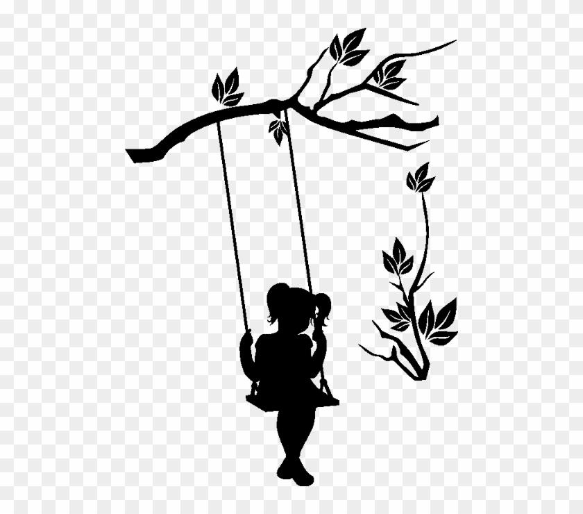 Dessin Balançoire dessin petite fille balancoire - free transparent png clipart images