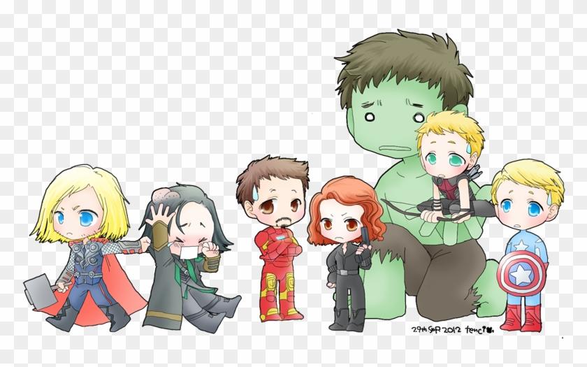 Avengers Assemble By Tencinoir On Deviantart Vingadores Tumblr