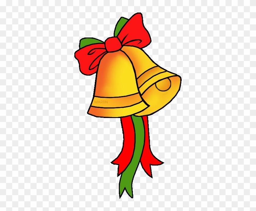 Free Christmas Clip Art By Phillip Martin, Christmas - Christmas Bells Clip Art #1071368