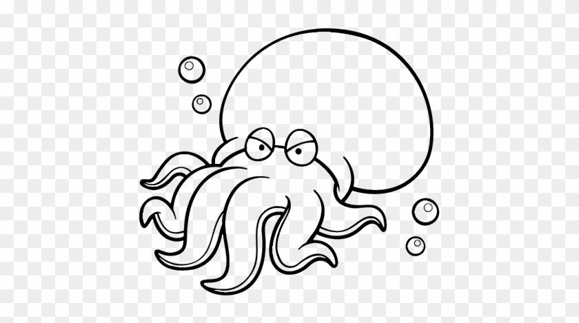 Dibujo De Octopoda Para Colorear Peces Del Mar Peruano Para