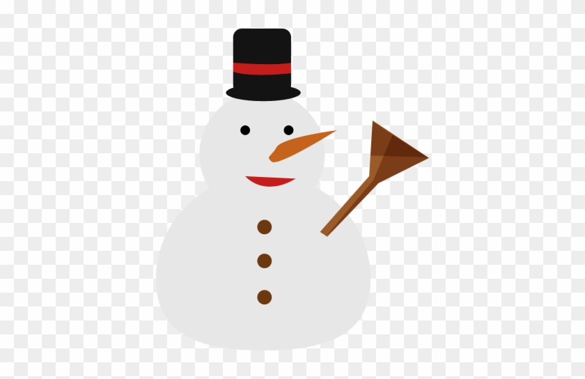 Snowman Icon - Snow Man Vector Png #1072447