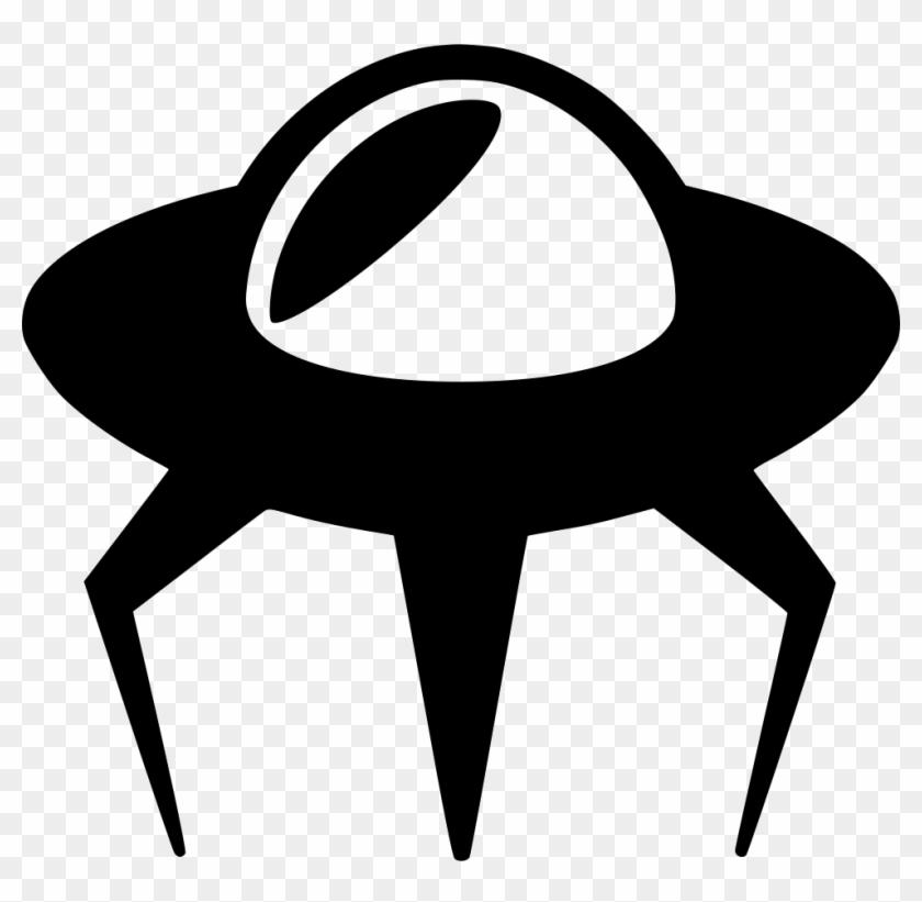 alien spacecraft clipart - 840×821