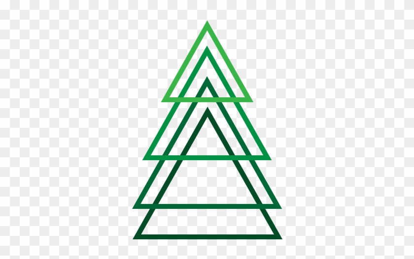 simplistic christmas tree by apparate two triangle tattoo meaning - Meaning Of The Christmas Tree