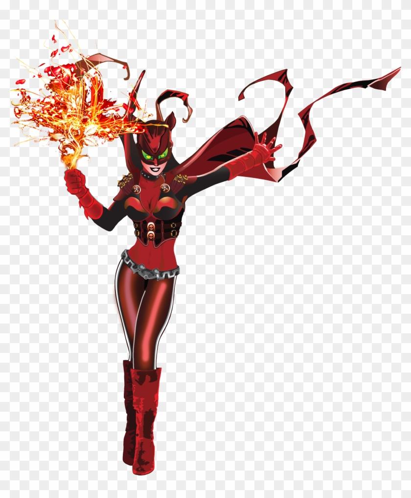 Featuring Fire Kitty Firebird Superhero Free Transparent