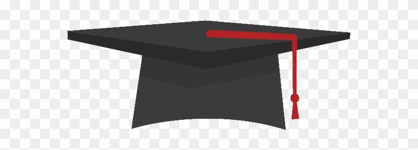 Graduation Cap Icon - Graduation Hat Flat Png #1073141
