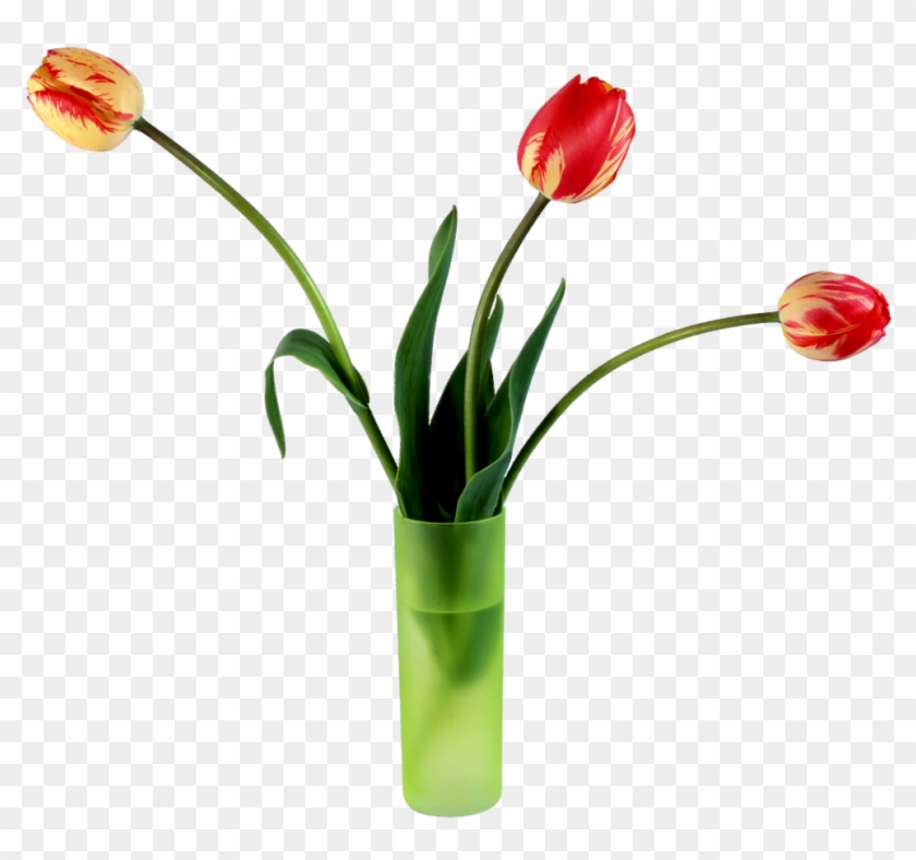 Spring Tulips - My Wife On Valentine's Day Card #1073390
