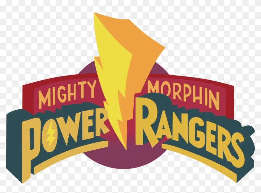 Mighty Morphin Power Rangers Logo Vector - Mighty Morphin Power Rangers Clip Art #1073558