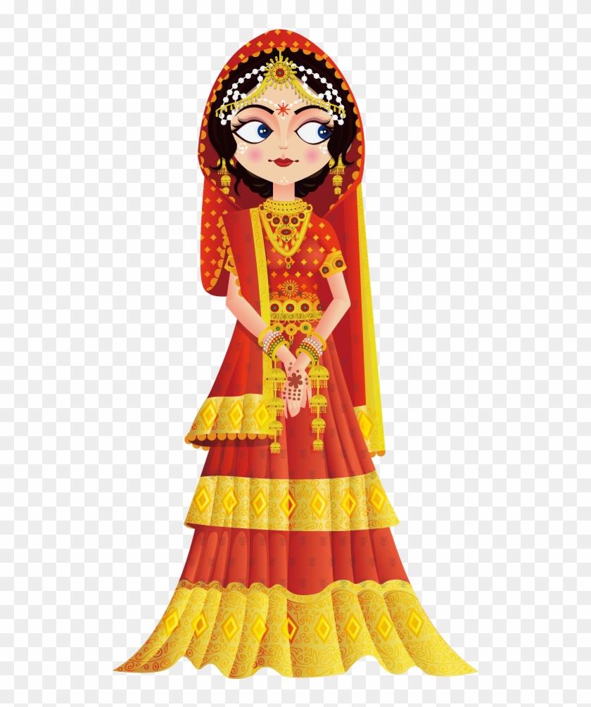 Weddings In India Wedding Invitation Bride Clip Art - 69 Things I ...