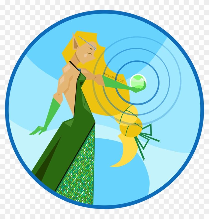 Female Elf Vector Token Www - Dungeons & Dragons - Free Transparent
