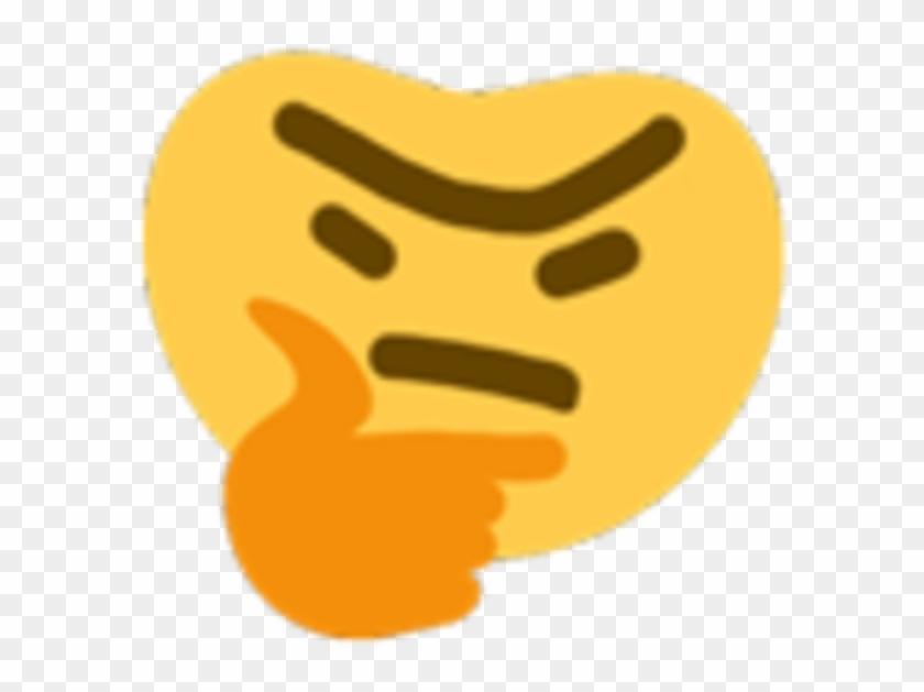 thinking emoji dank meme free transparent png clipart