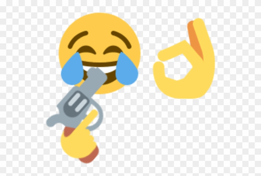 Gun In Mouth Emoji #1075844