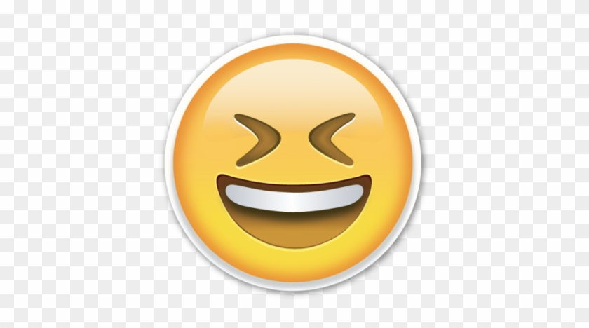 Laughing Emoji Images Png 12 Png Images - Smiling Face With Open Mouth & Closed Eyes #1075849