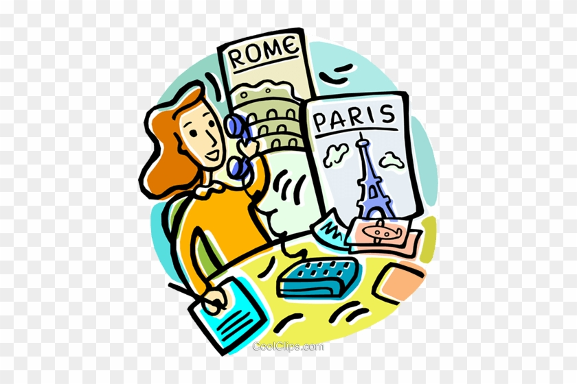 We Offer To Create A Online Portal For Your Business - Travel Agent Clipart #1076087