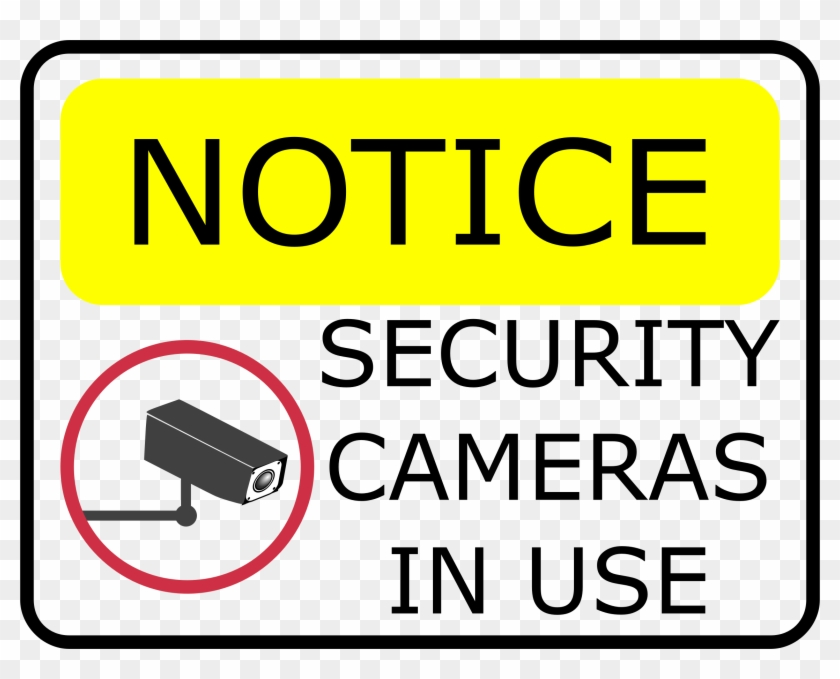 Security Camera Clipart Download - You Are Being Recorded #1076424