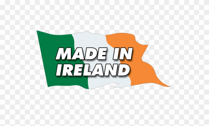 A Flag With Made In Ireland Written Made In Ireland Logo Free Transparent Png Clipart Images Download