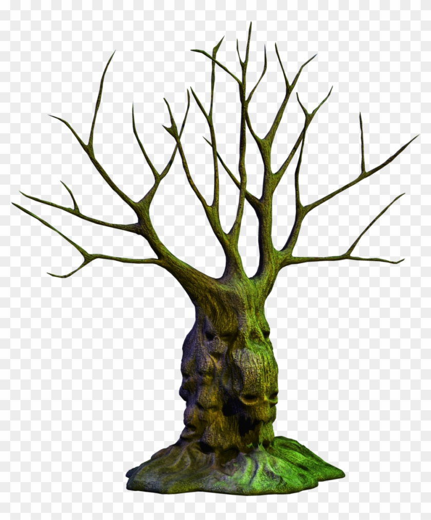 Scary Tree Png - Spooky Tree Png #1077100