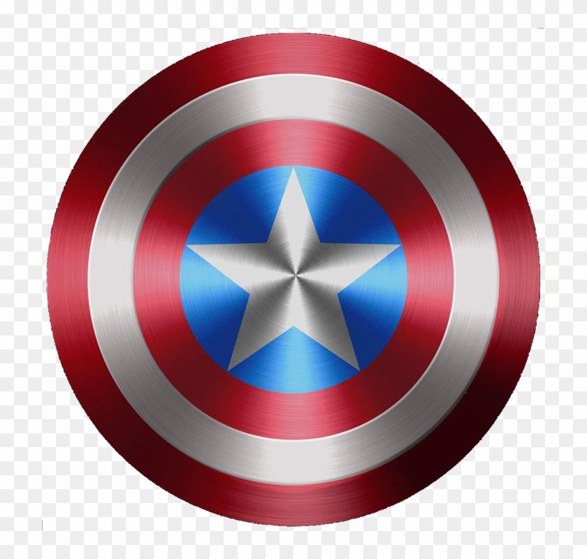 Captain America T-shirt Sticker Wall Decal - Escudo Capitão America