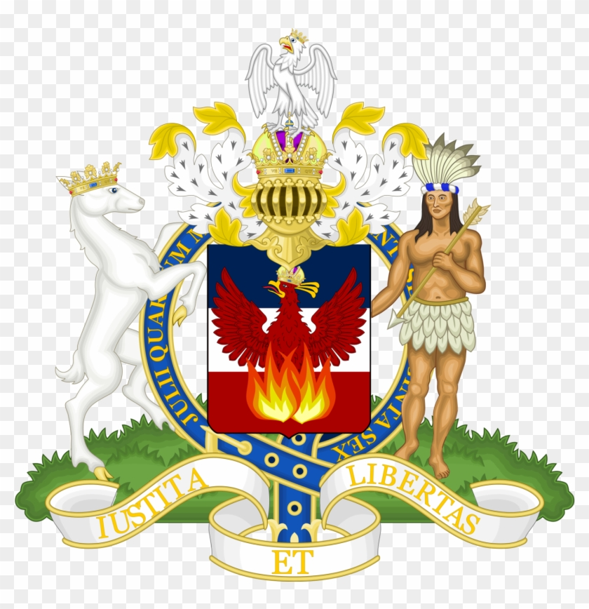 Coat Of Arms Of The Greater American Empire - Royal Coat Of