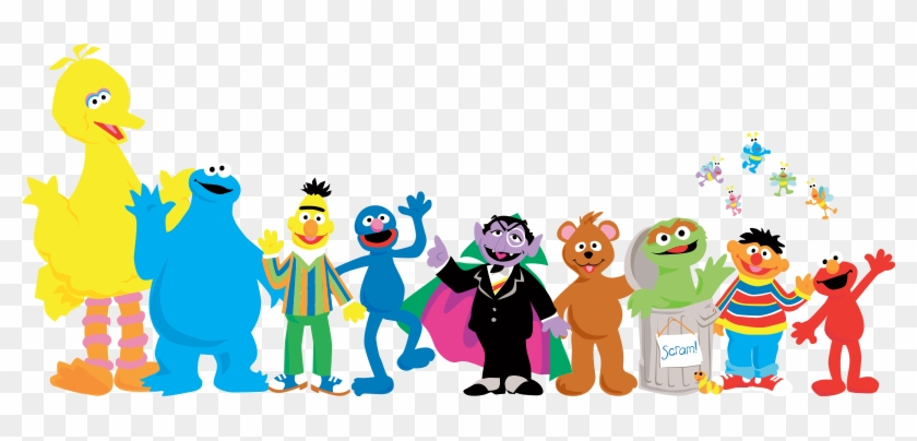 Sesame Street Characters Png Transparent Sesame Street - Sesame Street Characters Animation #1078213