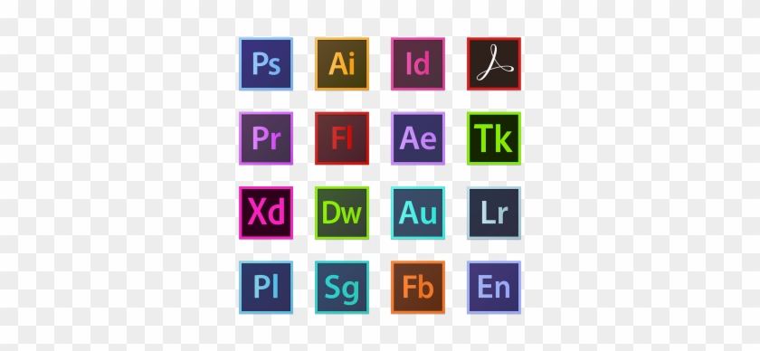 Adobe Icon Logo, Photoshop, Illustrator, Indesign Png - Dreamweaver Cs6 #1078841