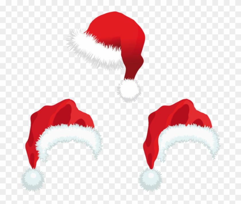 Santa Claus Christmas Day Clip Art Vector Graphics - Santa Claus Hat #1080900
